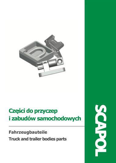 Części do przyczep i zabudów samochodowych katalog