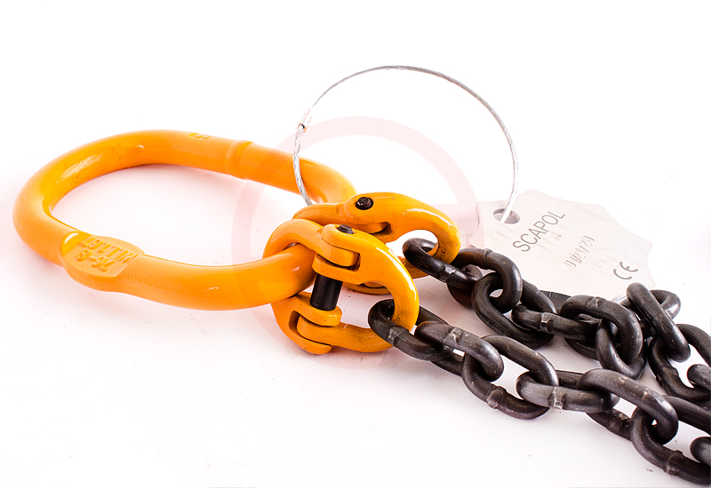 Atestowane znormalizowane zawiesie łańcuchowe